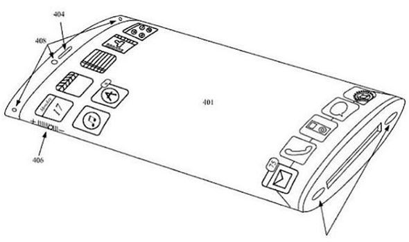 Apple Flexible Display Patent