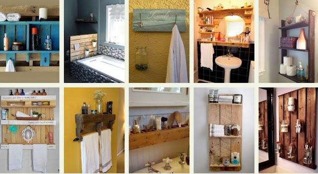 40+ Κατασκευές από Παλέτες για το Μπάνιο