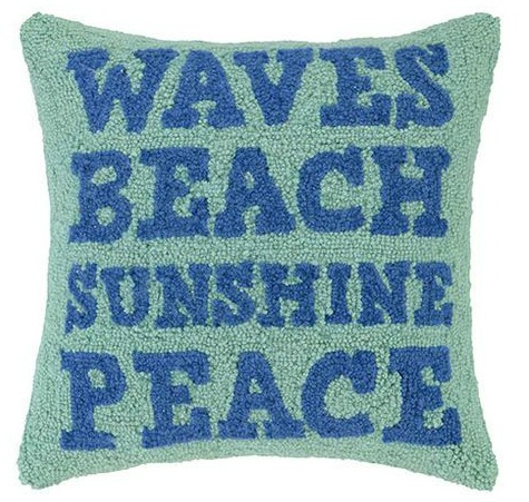 Ocean Peace Pillow