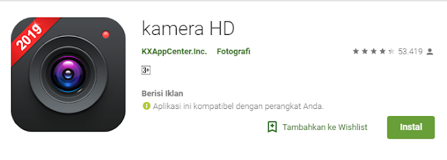 kamera hd for smarphone