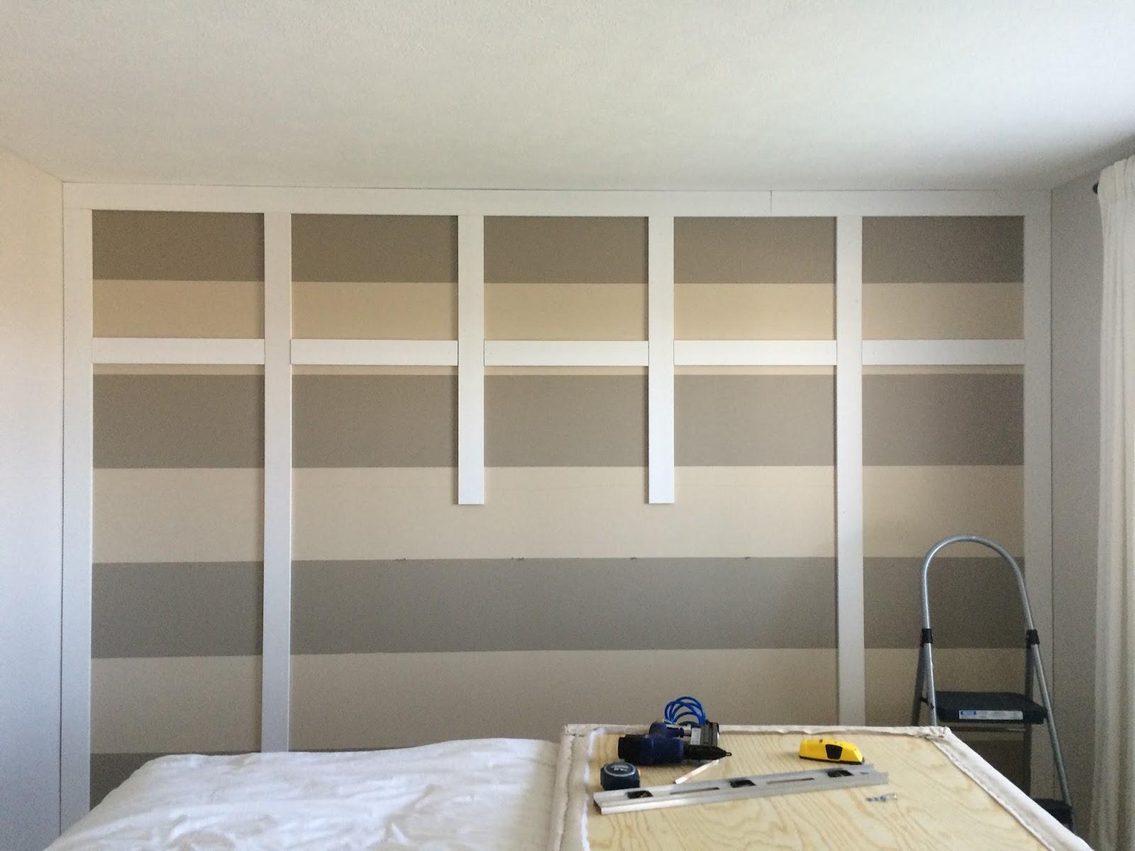 DIY Paneled Wall  Wainscoting  A Burst of Beautiful