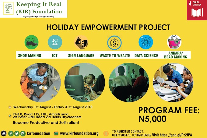 Holiday Empowerment Program (HEP)