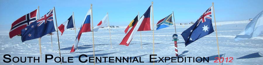 2012 Scott Centennial South Pole Expedition