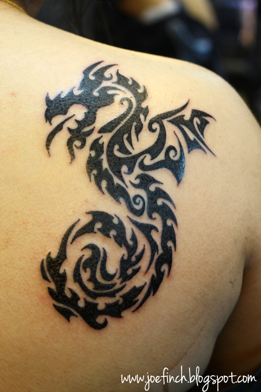Polynesian Scorpion Tattoo