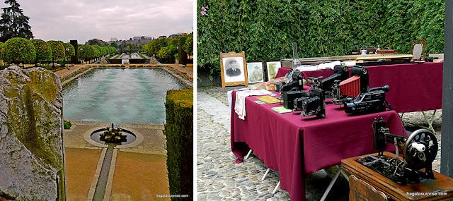 Alcázar dos Reis Cristãos e feira de antiguidades em Córdoba, Andaluzia