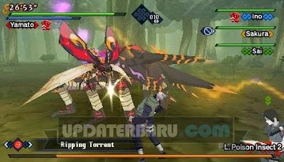 Game PSP Naruto Shippuden Kizuna Drive ISO CSO