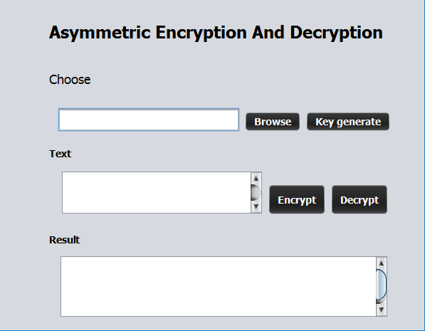 Create Asymmetric Encryption And Decryption Software | Sumudu cbr