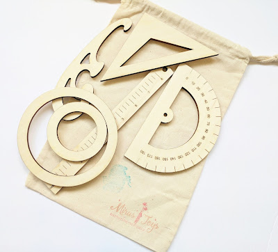 Wooden Drafting Kit from Mirus Toys