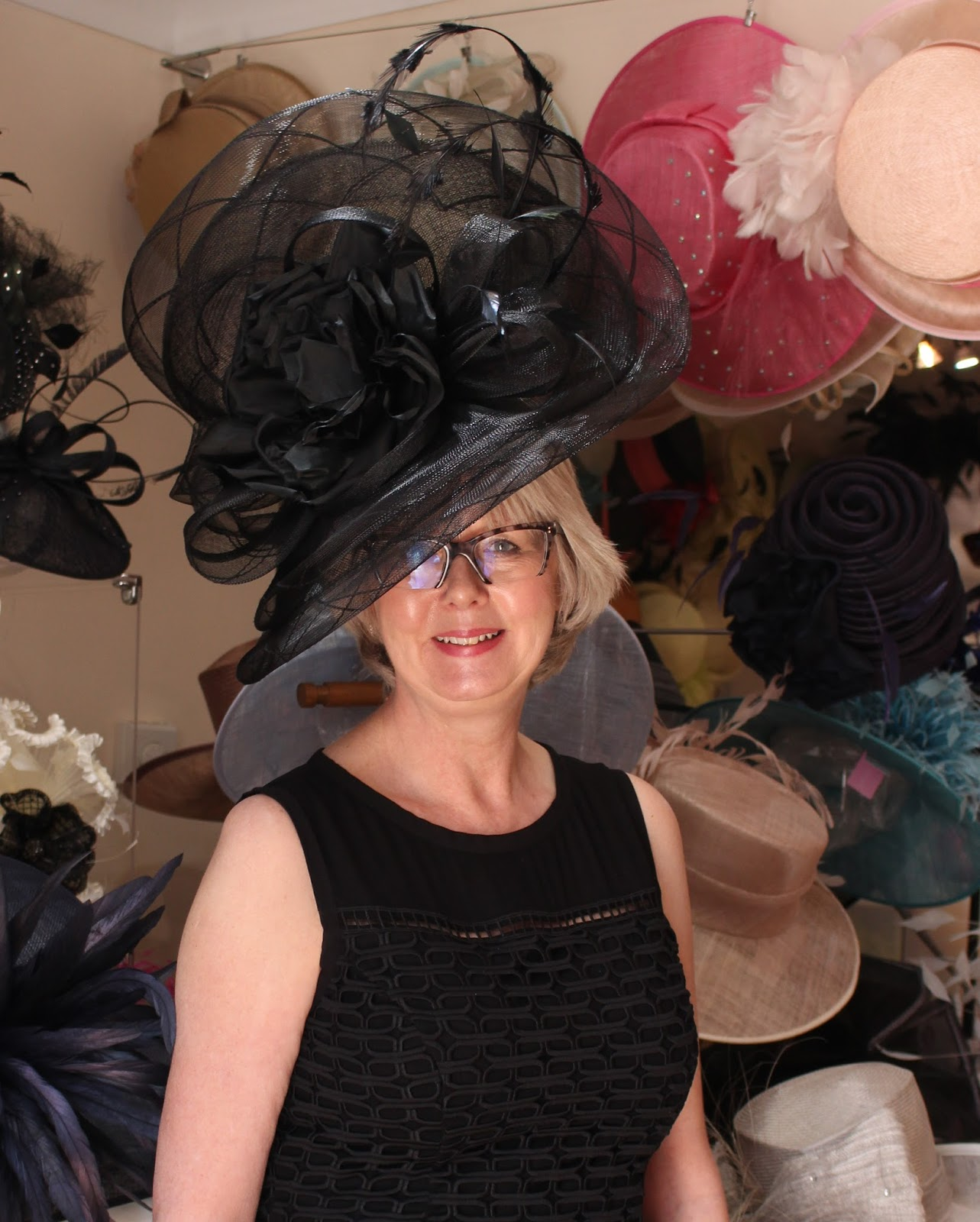 This black creation is one gorgeously outrageous hatinator and just perfect  for Royal Ascot 1f37cd8114ab