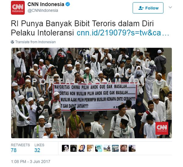 DIKECAM Netizen, CNN AKHIRNYA Ganti Judul Berita Siswa ...