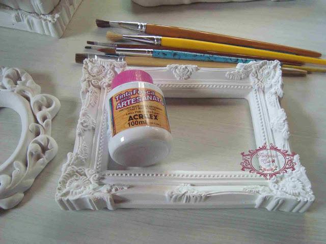 dicas de como pintar molduras provençais