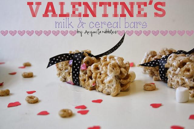 Valentine's Milk & Cereal Bars