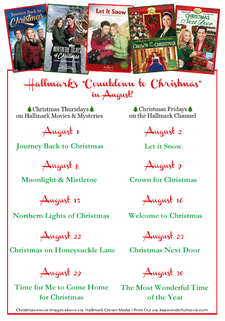 Christmas In August Poster.Its A Wonderful Movie Your Guide To Family And Christmas