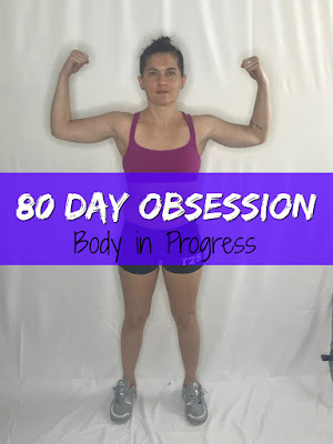 80 day obsession, workout, timed nutrition, meal plan, results, transformation, jaime messina, lgbt beachbody, lesbian beachbody,