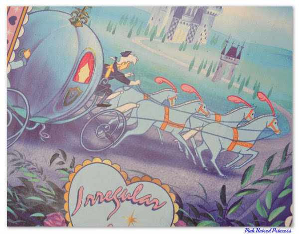 irregular choice disney cinderella box horse carriage detail