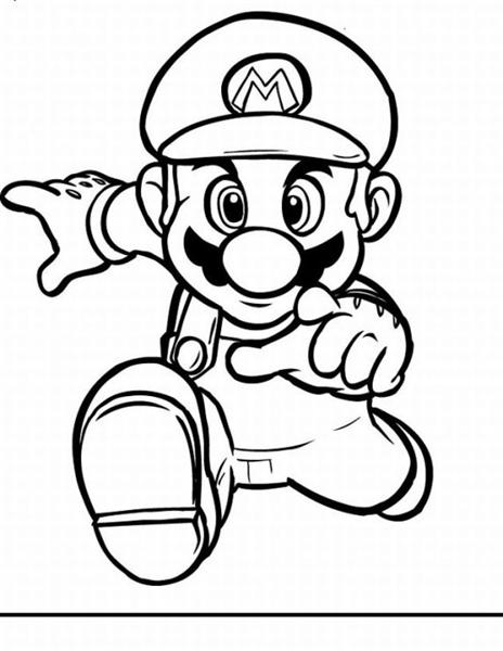 Super Mario Bros Coloring Pages | Learn To Coloring