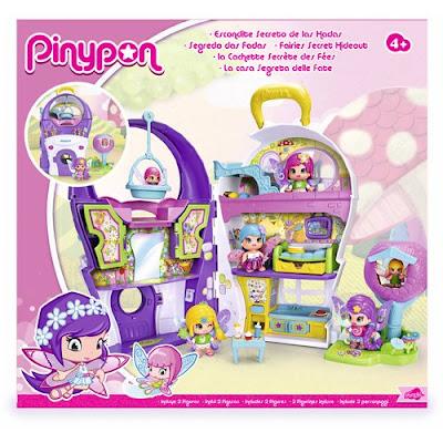 TOYS : JUGUETES - PINYPON Escondite secreto de las Hadas Producto Oficial 2016 | Famosa 700013090 | A partir de 4 años Comprar en Amazon España