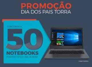 Cadastrar Promoção Torra Torra Dia dos Pais 2018 50 Notebooks Novo Cartão Torra