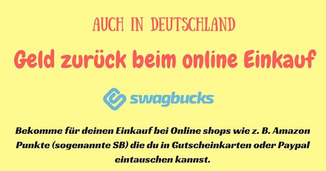In Deutschland Cash Back und Online Coupons mit Swagbucks