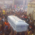 Photos: 27-year-old young man shot dead by armed robbers laid to rest in Anambra State