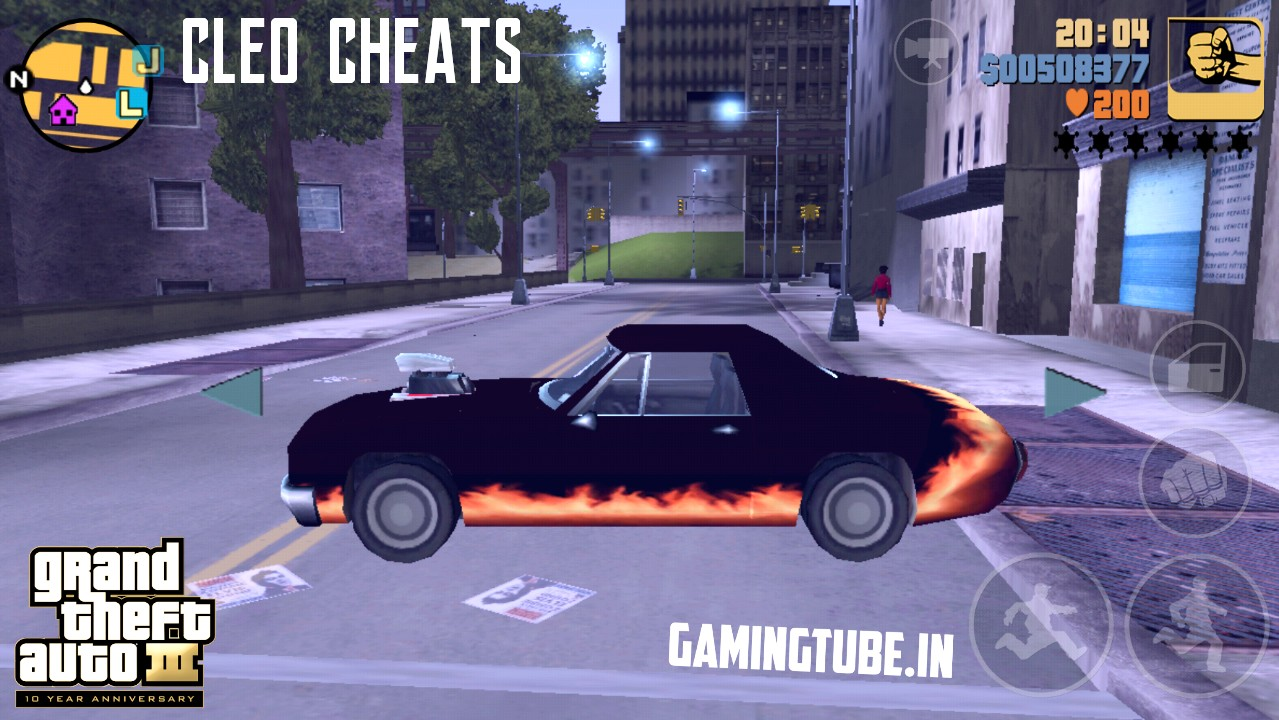 Cleo Cheats/Scripts For GTA 3 Android | Grand Theft Auto III