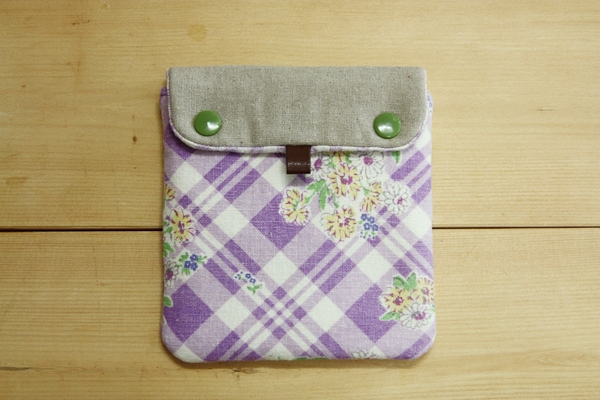 Mini fabric wallet sewing. Tutorial DIY in Pictures.