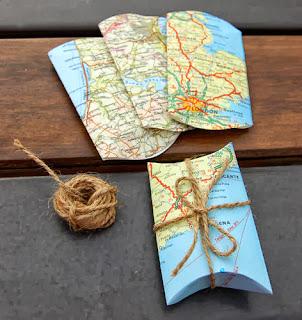 Haritadan Hediye Paketi Yapımı