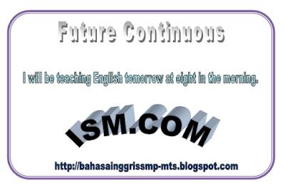 Di posting sebelumnya penulis sudah share Materi  Sinau Future Continuous Tense dengan mudah