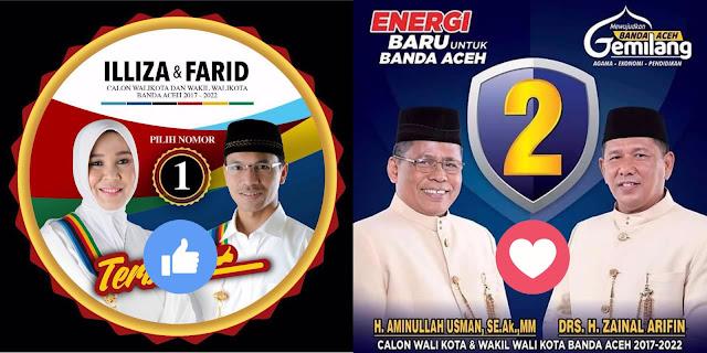 Votiing Paslon Walikota Banda Aceh