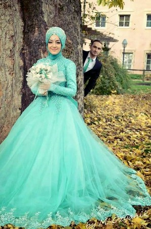 Model Kebaya Gaun Pengantin Muslimah Terindah di Dunia