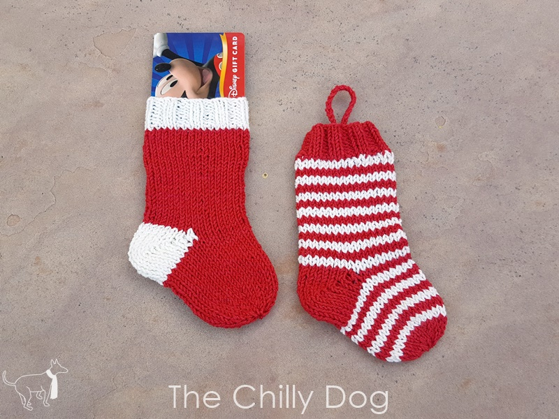 Knitting Pattern: Christmas Stocking Ornament Gift Card Holder | The ...