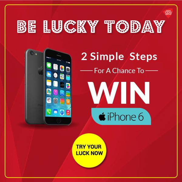 win a free iphone contest be lucky today win free apple iphone 6 free 16511