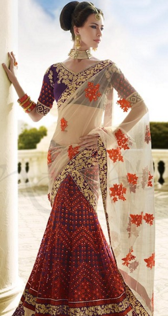 Sheer and Opaque Sarees