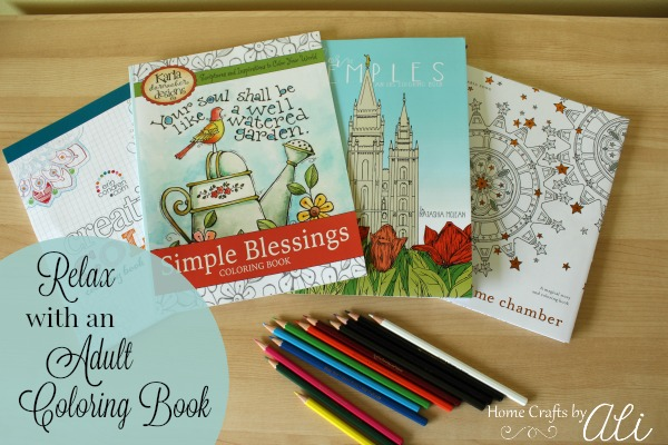 Coloring books for adults to relax with