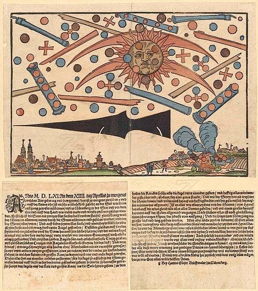 Batalla en el cielo de Nuremberg