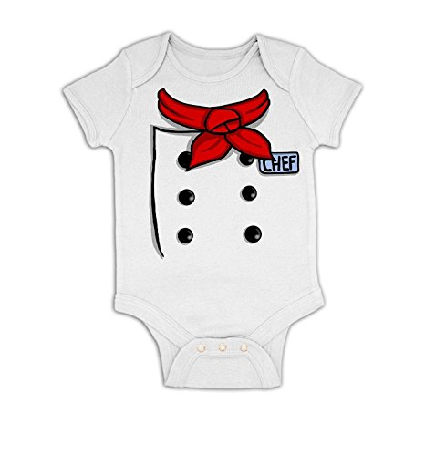 A baby chef outfit onesie