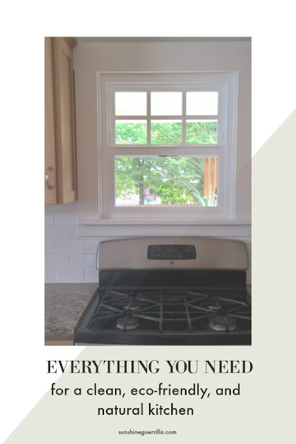 everything you need for a clean and eco-friendly kitchen.