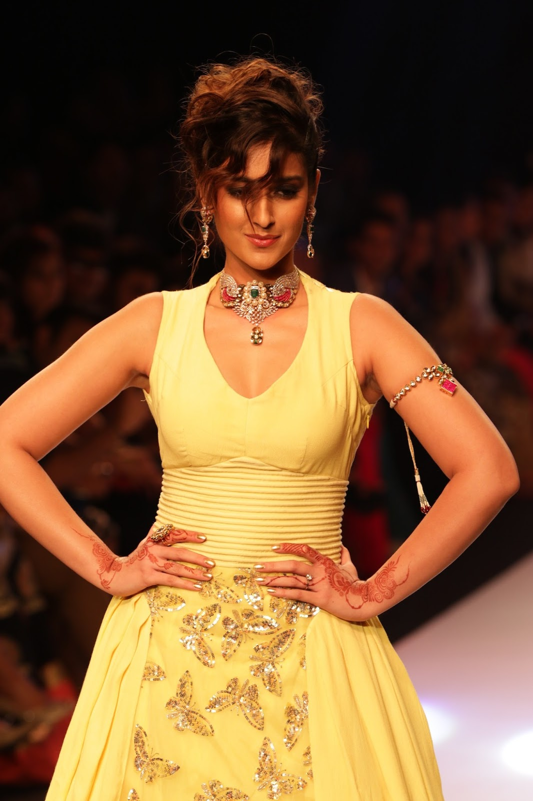 Ileana Ramp Walk Stills at IIJW 2015-HQ-Photo-27