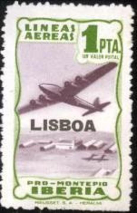 Iberia llega al 80 aniversario de los vuelos a Lisboa