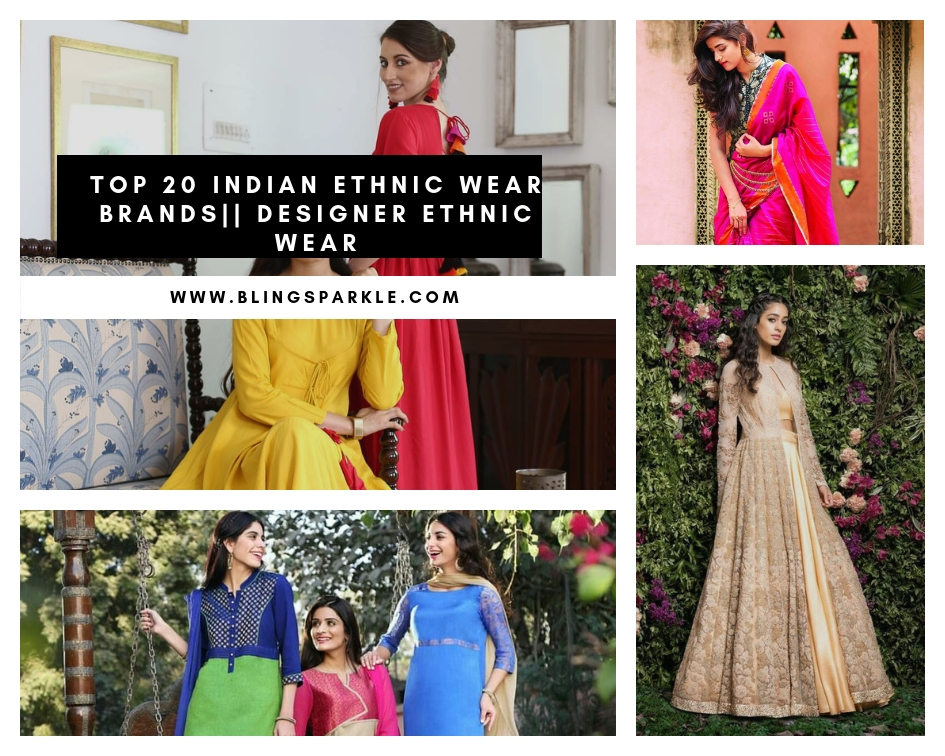 7a15596be6 Top 20 Indian Ethnic Wear Brand Names || List Of Top 10 Indian ...