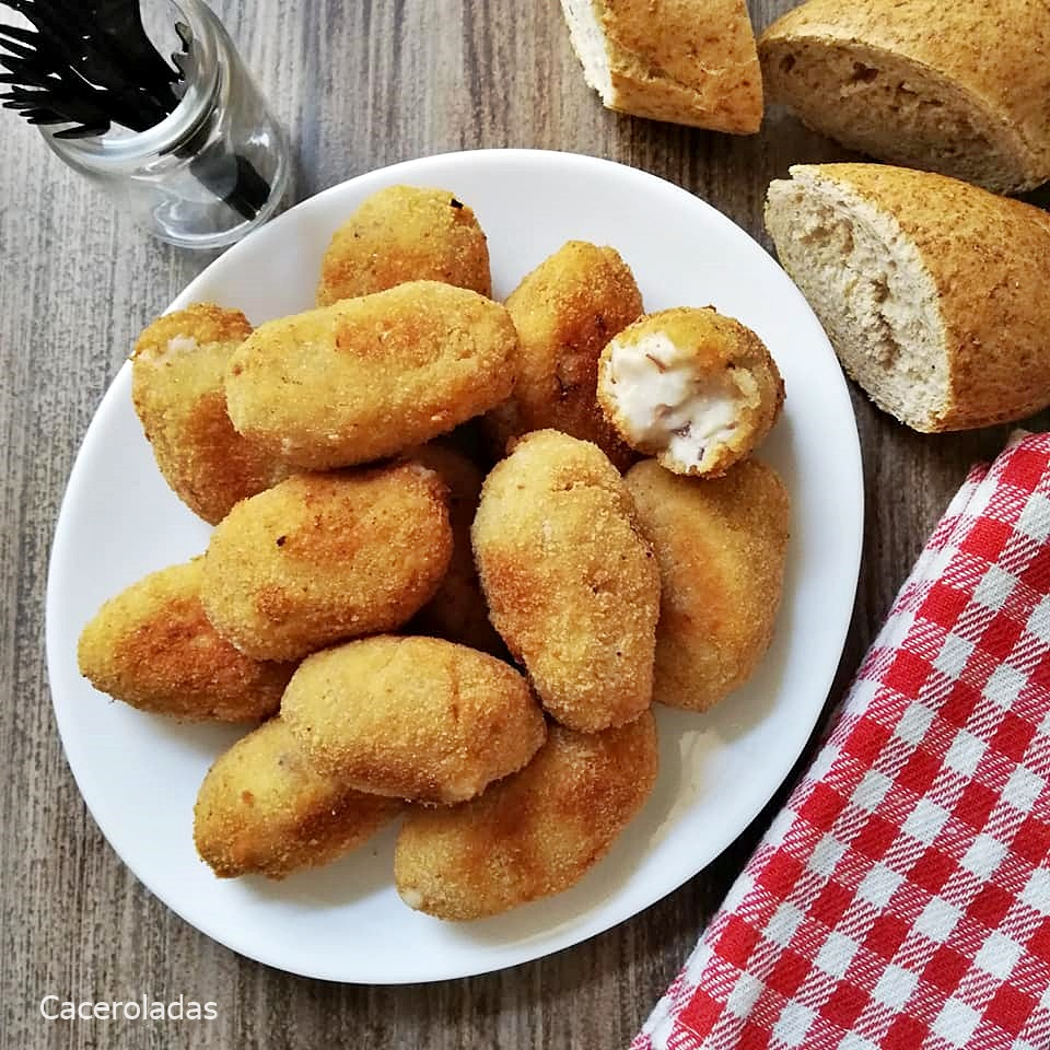 Croquetas de cocido caseras