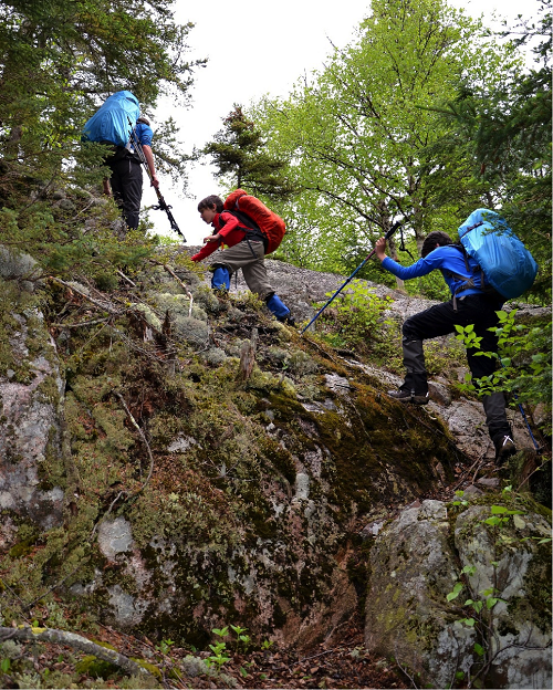 Làm sao để tránh rủi ro khi leo núi