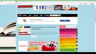 cara meniru template website orang lain