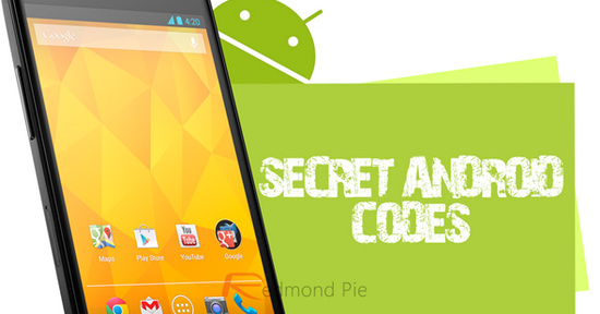 The List of all secret codes for Android, available for any phone or