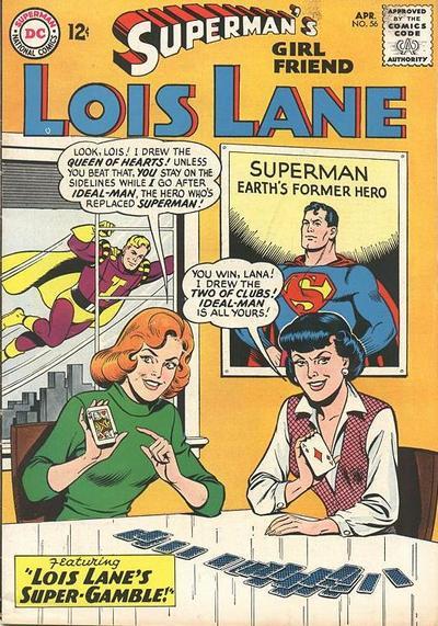 Episode #381 Part II: Superman Family Comic Book Cover Dated April 1965: Superman's Girl Friend Lois Lane #56!