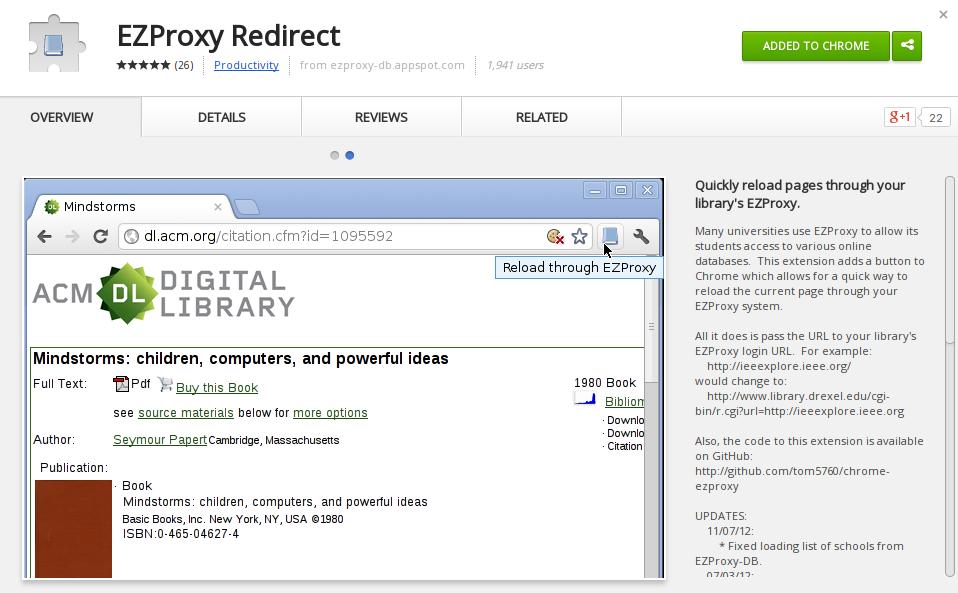 Ezproxy manual