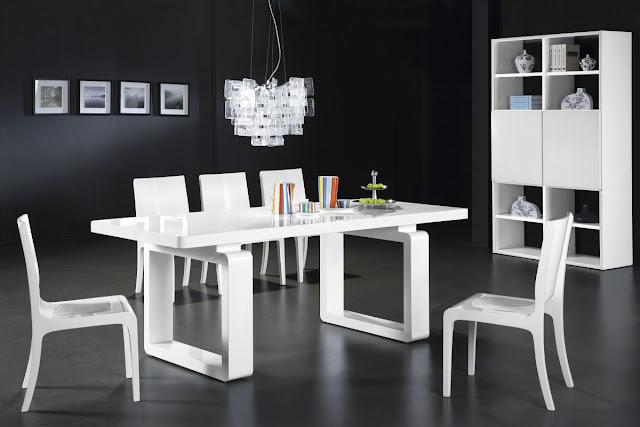 Comedores estilo minimalista decoraci n del hogar for Disenos de comedores de madera