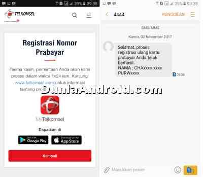 Cara Registrasi Kartu Telkomsel Online, Gampang dan anti gagal  Dunia Android