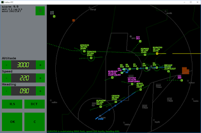 Endless ATC on PC, with weather and restriced areas.