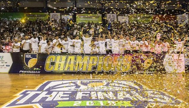 Tim Stapac Jakarta Berhasil Menjadi Juara IBL 2018 - 2019